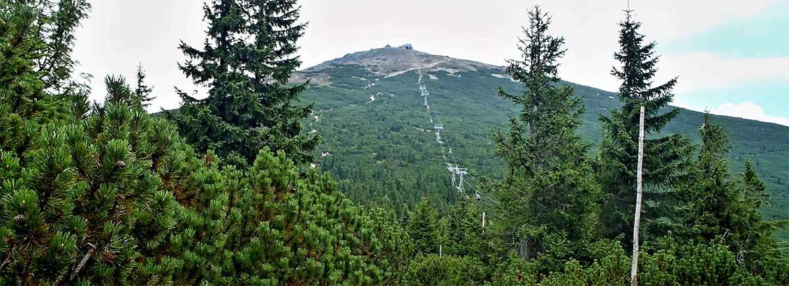 Turistická trasa: Růžová hora – Sněžka